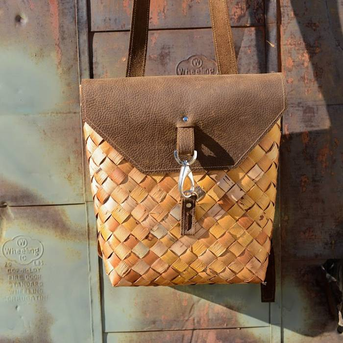 Teaser image for Woven Birch Bark Backpack