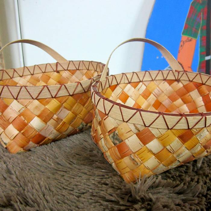 Teaser image for Woven Birch Bark Basketry