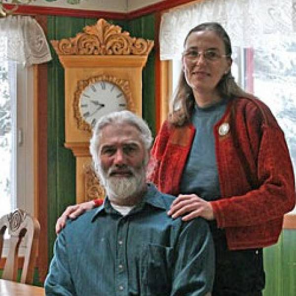 North House Folk School photo of instructor, Else & Phil Bigton/Odden