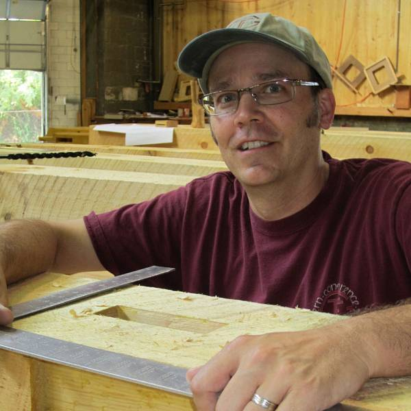 North House Folk School photo of instructor, Clark Bremer