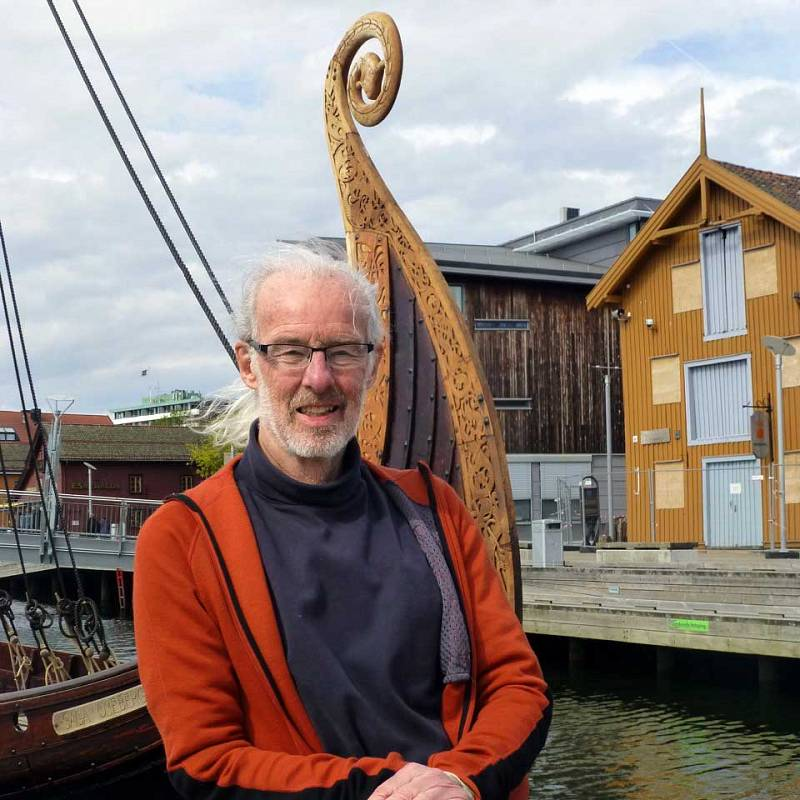 North House Folk School photo of instructor, Jay Haavik