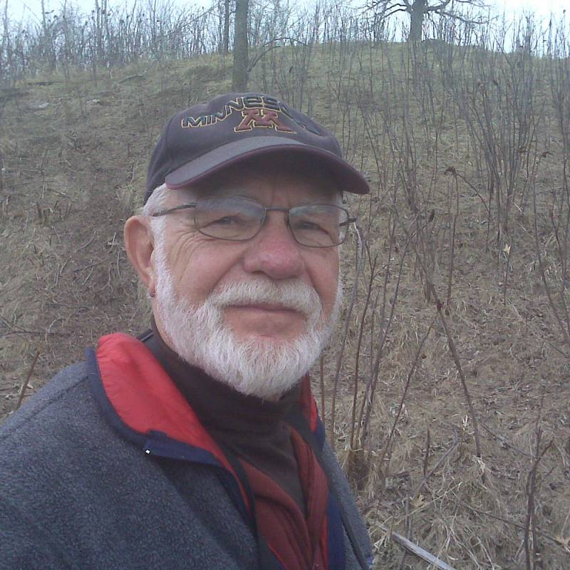 North House Folk School photo of instructor, Bob Janssen