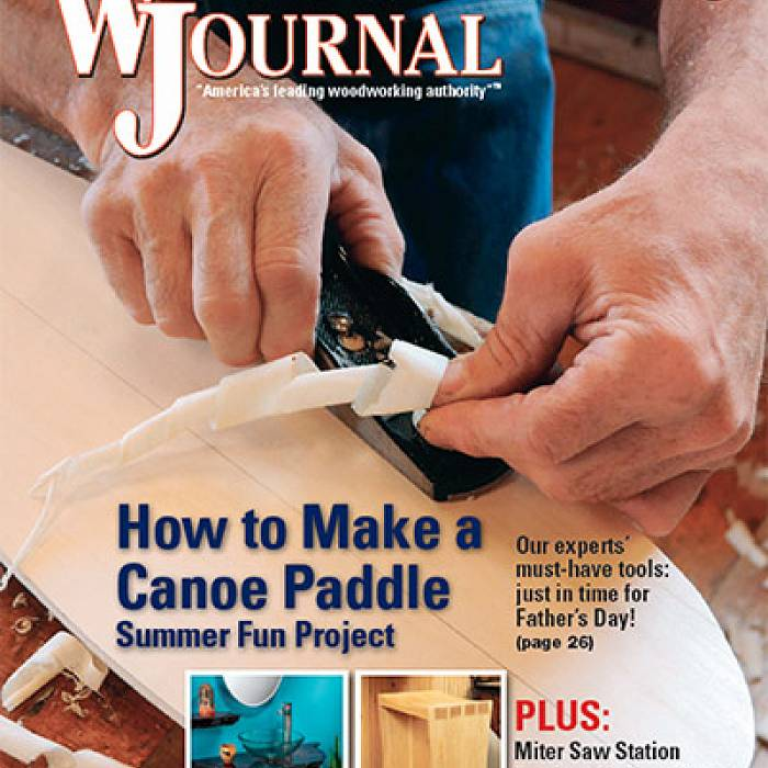 Image for Woodworker's Journal - June 2015