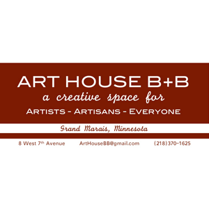 Logo for North House Folk School Partner, Art House B&B