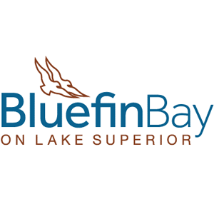 Logo for North House Folk School Partner, Bluefin Bay Resort