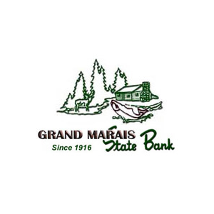 Logo for North House Folk School Partner, Grand Marais State Bank