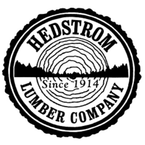 Logo for North House Folk School Partner, Hedstrom Lumber Company