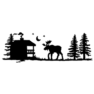 Logo for North House Folk School Partner, Mangy Moose Motel