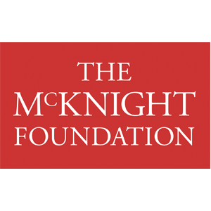 Logo for North House Folk School Partner, The McKnight Foundation