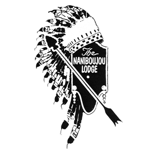 Logo for North House Folk School Partner, Naniboujou Lodge