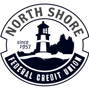Logo for North House Folk School Partner, North Shore Federal Credit Union