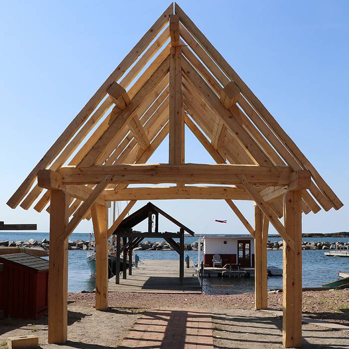 Photo for Hand-Hewn Timber Frame
