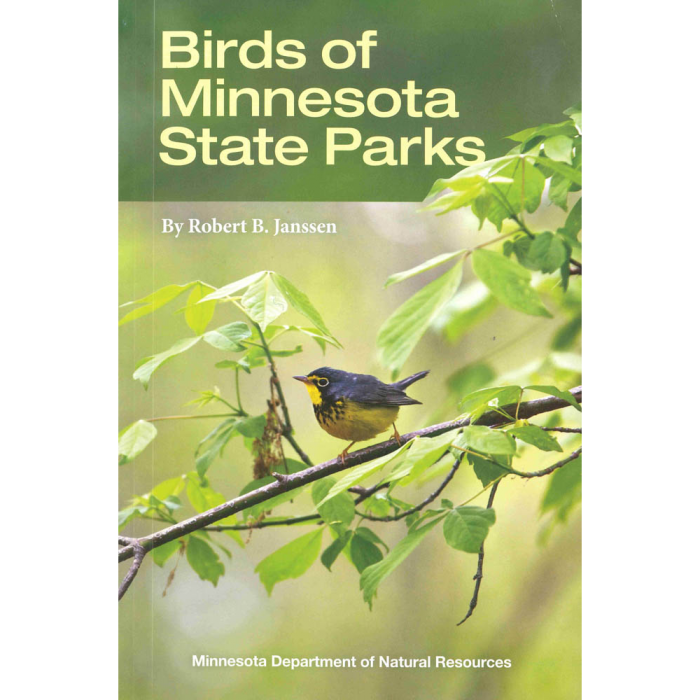 Product image for Birds of Minnesota State Parks