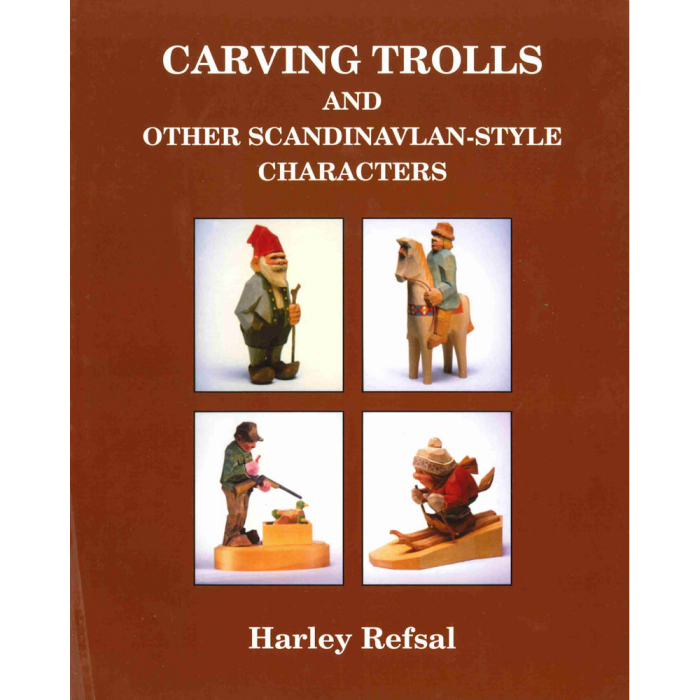 Product image for Carving Trolls and Other Scandinavian-Style Characters