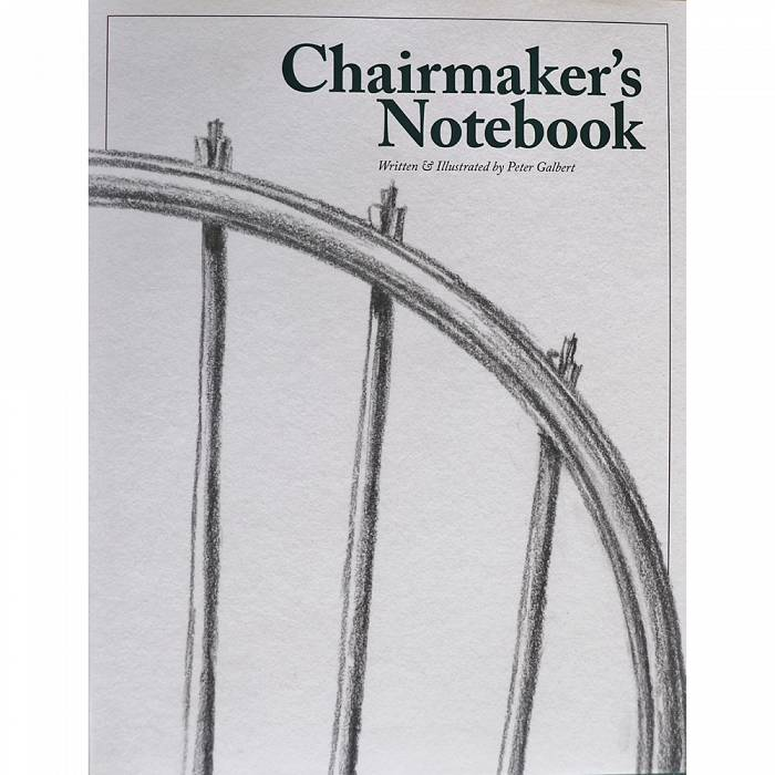 Product image for Chairmakers Notebook by Peter Galbert