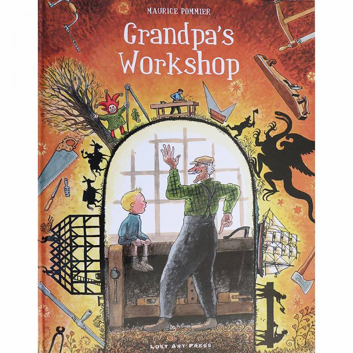 Product image for Grandpa's Workshop by Maurice Pommier