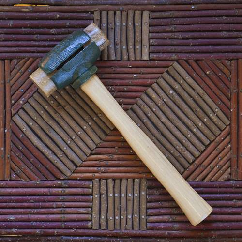 Product image for Garland Rawhide-tipped Mallet