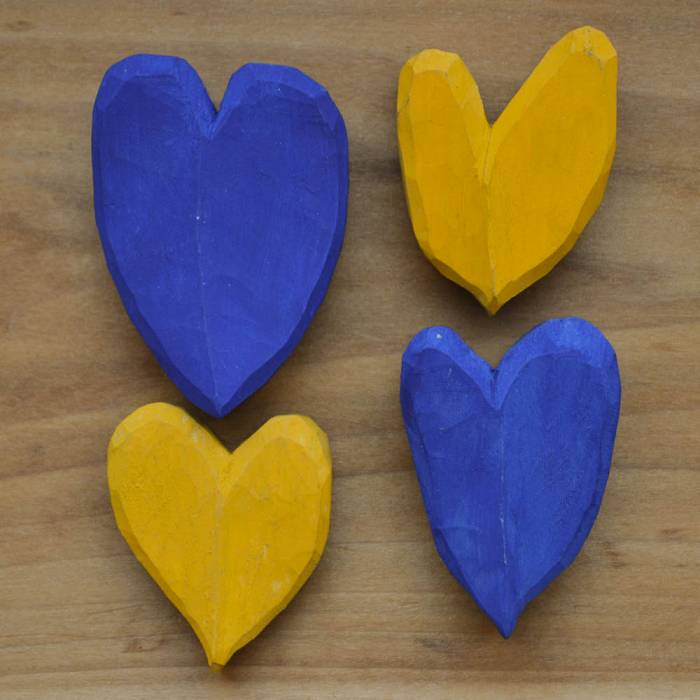Product image for Carved Wooden Heart